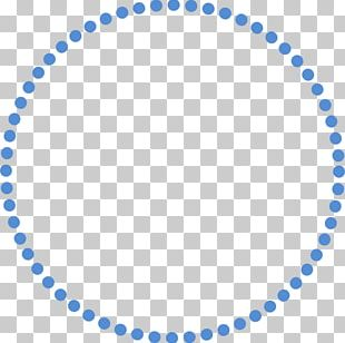 Polka Dot Circle PNG