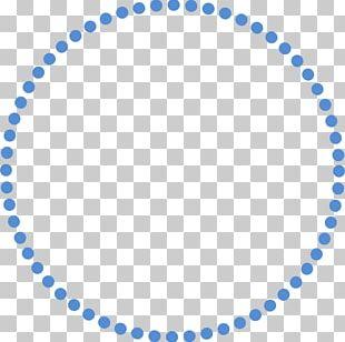 Polka Dot Circle PNG