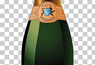 Champagne Beer Bottle Beer Bottle Drink PNG