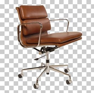 Eames Lounge Chair Office & Desk Chairs Swivel Chair PNG