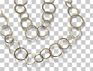 Silver Body Jewellery Necklace Chain PNG
