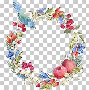 Wreath Greeting & Note Cards Flower Stock Photography PNG