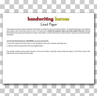 Ruled Paper Box Drawing Font PNG