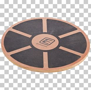Yes4All Wooden Wobble Balance Board Exercise Balance Stability Trainer 40cm Diameter Physical Fitness PNG