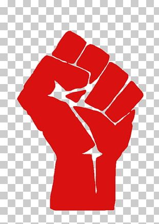 T-shirt Raised Fist Sticker Decal Salute PNG