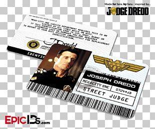 Judge Dredd Mega-City One Film Epic IDs PNG