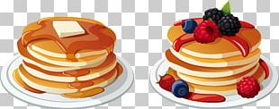 Pancake Breakfast Bacon Cream PNG