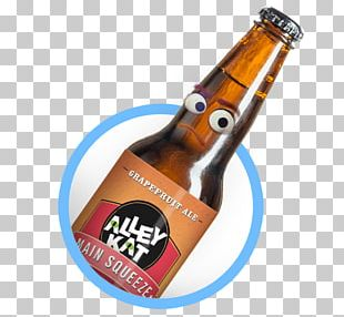 Beer Bottle Alcoholic Drink Brewery Brown PNG