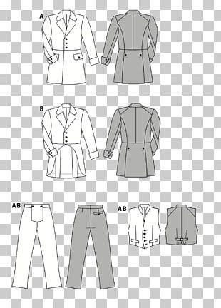 Burda Style Costume Sewing Fashion Pattern PNG