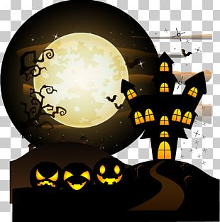 Halloween Illustration PNG