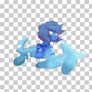 Lapis Lazuli Blue Steven Universe Fan Art PNG