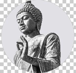 Tian Tan Buddha Om Mantra Standing Bell Meditation PNG