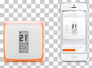 Programmable Thermostat Netatmo Smart Thermostat Home Automation Kits PNG