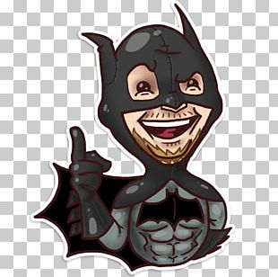 Telegram Sticker VKontakte Hashtag Batman PNG