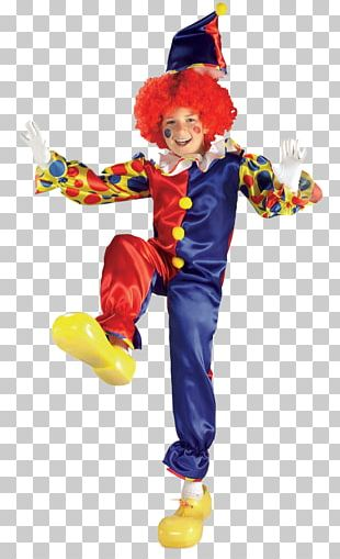 Costume Party Clown Halloween Costume Child PNG