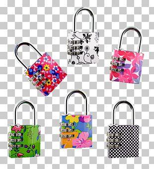 Padlock Combination Lock Handbag PNG