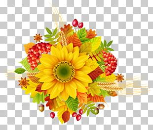 Autumn Flower PNG