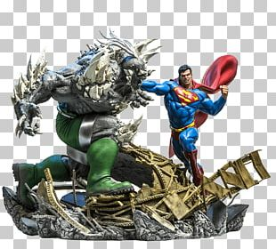 Doomsday Superman Darkseid Figurine Action & Toy Figures PNG