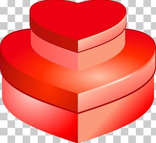 Heart Gift Valentine's Day PNG