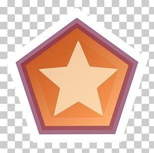 Triangle Orange Font PNG
