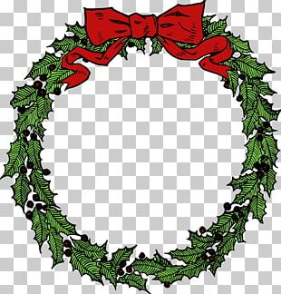Wreath Christmas Garland Free Content PNG