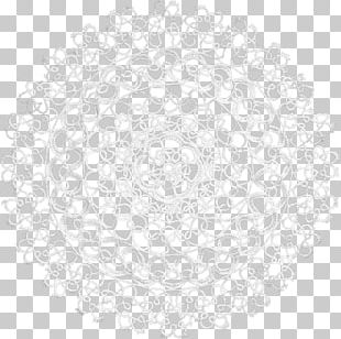 Doily Circle Place Mats Point PNG