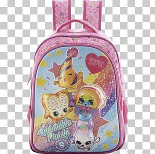 Handbag Backpack School Shopkins Lunchbox PNG
