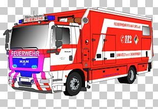 Volunteer Fire Department Feuerwehr Frankfurt Am Main Hilfeleistungslöschgruppenfahrzeug Command Center PNG