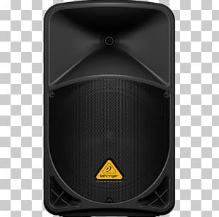 Microphone BEHRINGER Eurolive B1 Series Public Address Systems Powered Speakers PNG