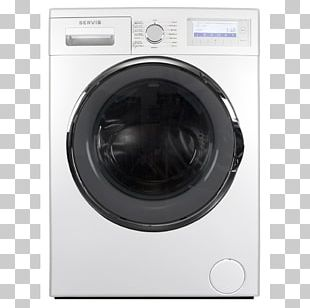 Washing Machines Combo Washer Dryer Clothes Dryer Laundry Home Appliance PNG