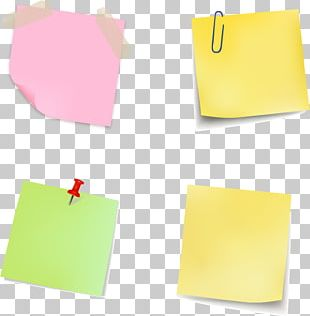 Paper Clip Post-it Note Stationery PNG