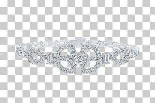 Bracelet Diamond Jewellery Art Deco Harry Winston PNG