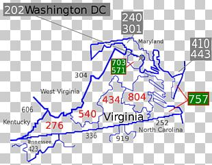 Area Codes 571 And 703 Area Code 804 Area Code 757 Telephone Numbering Plan Area Code 540 PNG