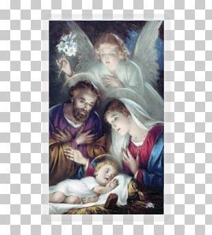 Nazareth Holy Family Nativity Scene Nativity Of Jesus Holy Card PNG