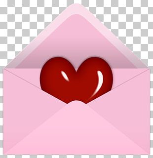 Valentine's Day Letter PNG