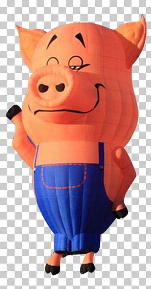 Domestic Pig Balloon Designer PNG