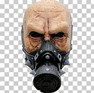 Latex Mask Biological Hazard Halloween Costume PNG