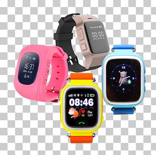 Smartwatch Mobile Phones Clock GPS Tracking Unit PNG