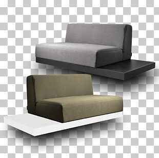 Sofa Bed Couch Textile Seat Chair PNG