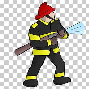 Firefighter Fire Department Firefighting PNG