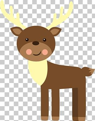 Reindeer Cattle Antler Neck PNG