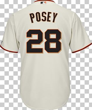 San Francisco Giants Jersey Majestic Athletic T-shirt Clothing PNG