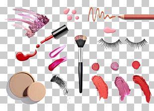 Cosmetics Lipstick Face Powder Nail Polish Foundation PNG