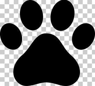 Dog Cat Paw Decal PNG