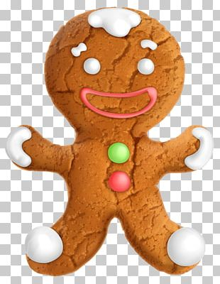 The Gingerbread Man Gingerbread House PNG
