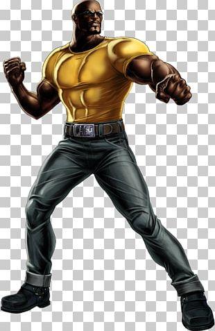 Iron Fist Jessica Jones Luke Cage Purple Man Marvel Comics PNG