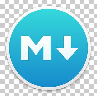 Markdown Text Editor Plain Text Formatted Text MacOS PNG