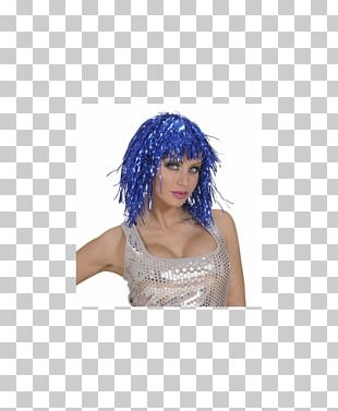 Wig Blue Disguise Costume Violet PNG