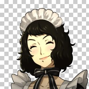 Persona 5 Maid Service Room Video Game PNG