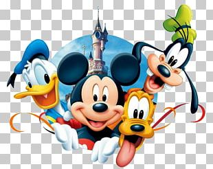 Mickey Mouse Pluto Minnie Mouse Donald Duck Goofy PNG